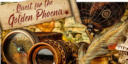 """""""Quest for the Golden Phoenix"""" Alderford's exciting Easter Pirate Adventure"""
