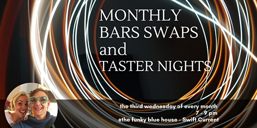 MONTHLY ACCESS BARS SWAPS & TASTER NIGHTS
