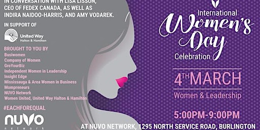 International Women's Day Celebration - Burlington