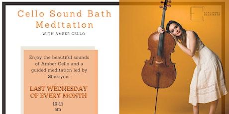 Cello Sound Bath Meditation tickets