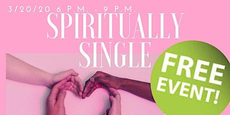 Spiritually Single tickets