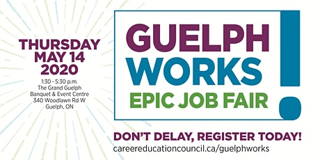 Guelph Works: Epic Job Fair (Job Seekers) tickets