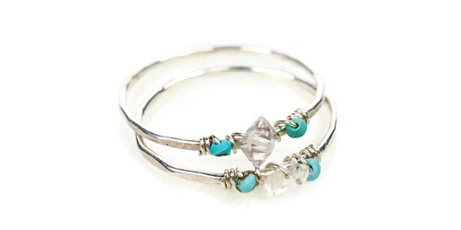 Hammered Stacking Ring Class with Jenny from Pure Life Jewelry