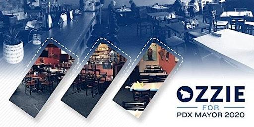 Fundraising Dinner for Ozzie Gonzalez for Portland Mayor! Please join us!