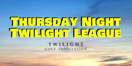 Thursday Night Twilight League at Stumpy Lake Golf Course tickets