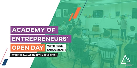 Academy of Entrepreneurs' Open Day (Apr 2020) tickets