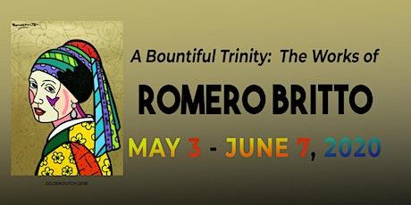 A Bountiful Trinity: The Works of Romero Britto tickets