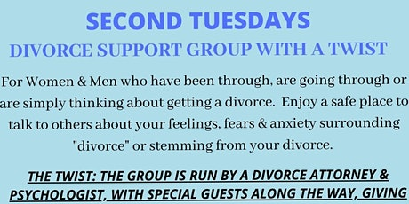 SECOND TUESDAYS DIVORCE SUPPORT GROUP tickets