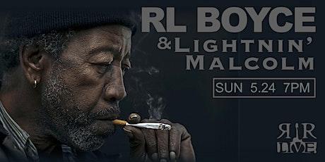 RL Boyce tickets