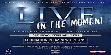 """Live In The Moment"" A Bleu Devil Classic Weekend Alumni Affair... tickets"