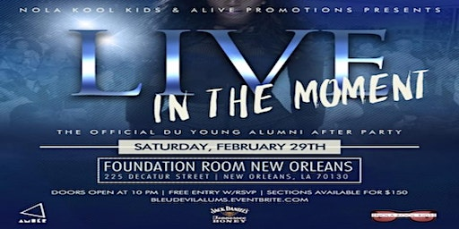 """Live In The Moment"" A Bleu Devil Classic Weekend Alumni Affair..."