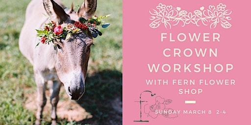 Flower Crown Workshop with Fern Flower Shop