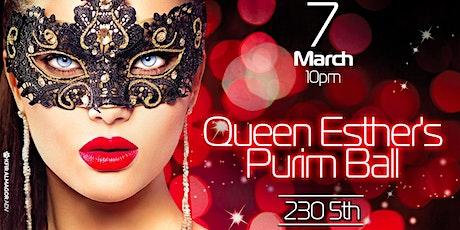 Queen Esther's Purim Ball 2020 tickets