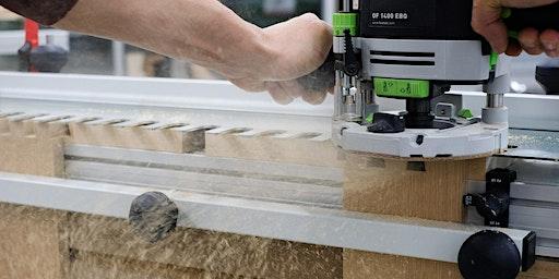Festool Workshop - Schwalbenschwanzverbindung und Oberfräse