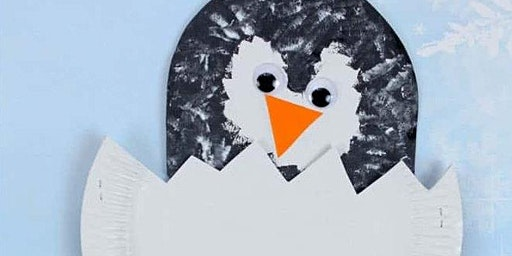 Toddler Craft: Penguin Puppets!
