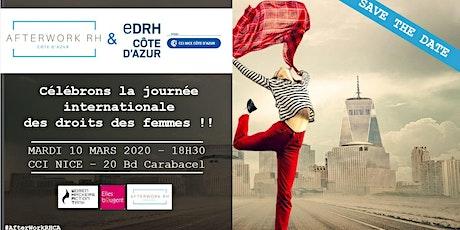 AfterWork RH Côte d'Azur - 10 mars 2020 - Célébrons la journée internationale des droits des femmes ! billets