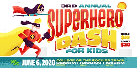 3rd Annual Superhero Dash for Kids tickets