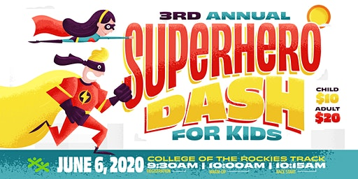 3rd Annual Superhero Dash for Kids