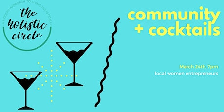 Community + Cocktails tickets