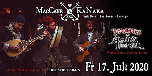 Pirates Action Theater presents MacCabe & Kanaka (Konzertabend)