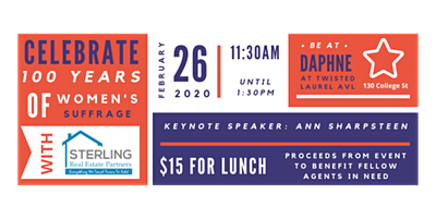 Women's Rights Celebration Luncheon