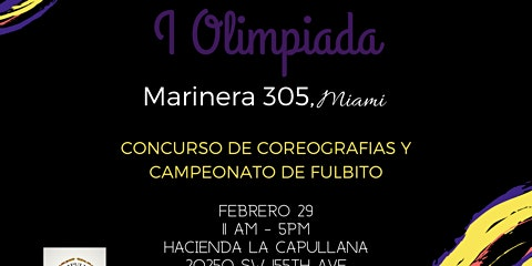 I Olimpiada Marinera 305, Miami
