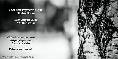 The Great Wymering Quiz - Hidden Nature
