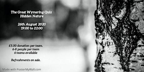 The Great Wymering Quiz - Hidden Nature tickets