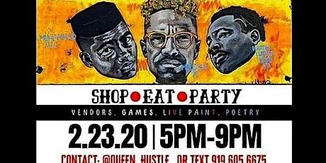 Celebrity Black History Social Market tickets
