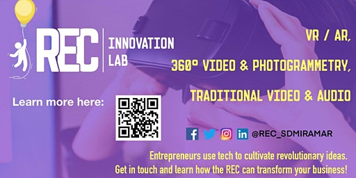 SD Miramar College REC Innovation and VR Lab @ SD Tech Hub