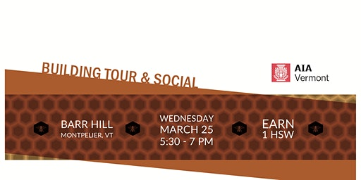 Barr Hill Distillery Architecture Tour & Social