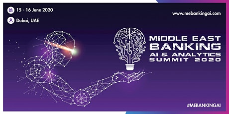 Middle East AI & Analytics Summit tickets