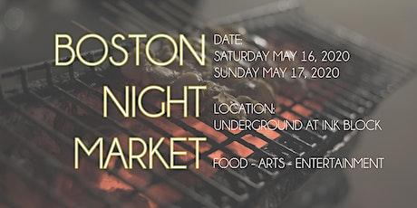Boston Night Market 2020 tickets