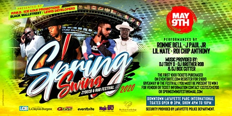 Spring Swing Zydeco And R&B Festival  2020 tickets