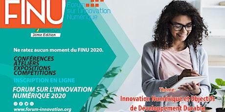 Forum sur l'Innovation Numérique billets