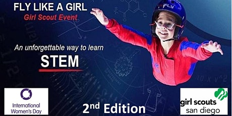 Girl Scouts San Diego STEM Event at iFLY (2nd Edition) tickets