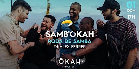 Samb'okah no OKAH Rooftop ingressos