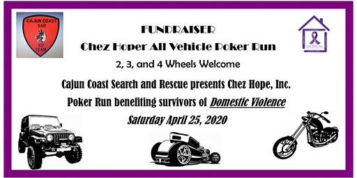 Chez Hope All Vehicle Poker Run 2020