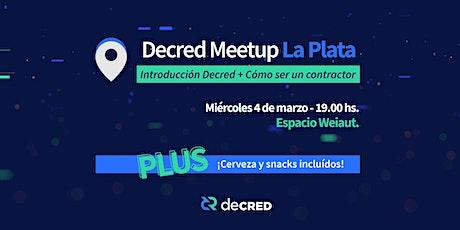 Decred Meetup - La Plata entradas