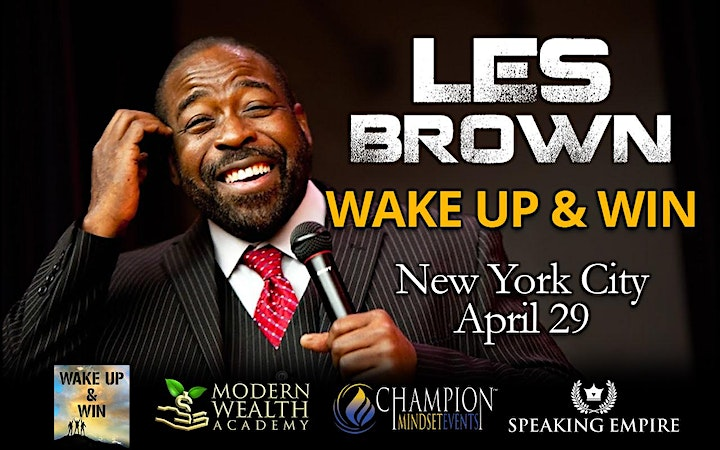 Wake Up & Win with Les Brown NYC image