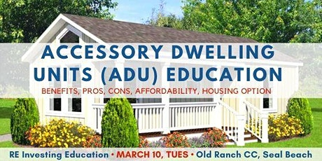 Benefits, Pros & Cons on Accessory Dwelling Units (ADUs) tickets