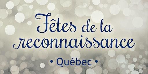 Fête de la reconnaissance 2020 Québec
