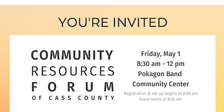 Community Resources Forum of Cass County tickets