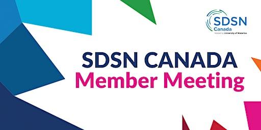 SDSN Canada Member Meeting