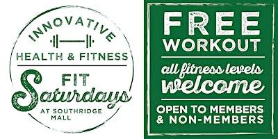 Fit Saturday's at Southridge Mall BodyCombat!