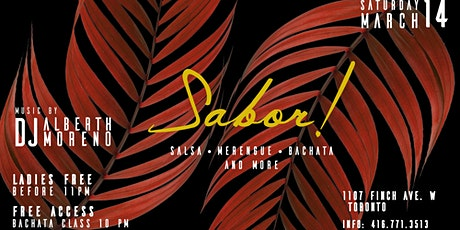 Sabor Party!! tickets