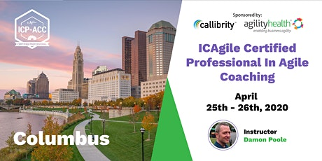 Agile Coach Workshop with ICP-ACC Certification Columbus April 25-26 tickets