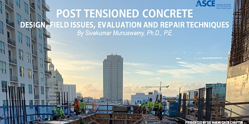 SEI Post-Tensioned Concrete Luncheon | +1PDH | SEI ASCE