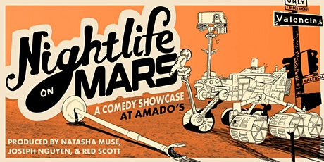 Nightlife On Mars: Mission - A comedy showcase tickets