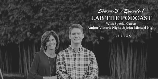 LAB: The Podcast - Season 3 Episode 1 with Author Victoria Night
